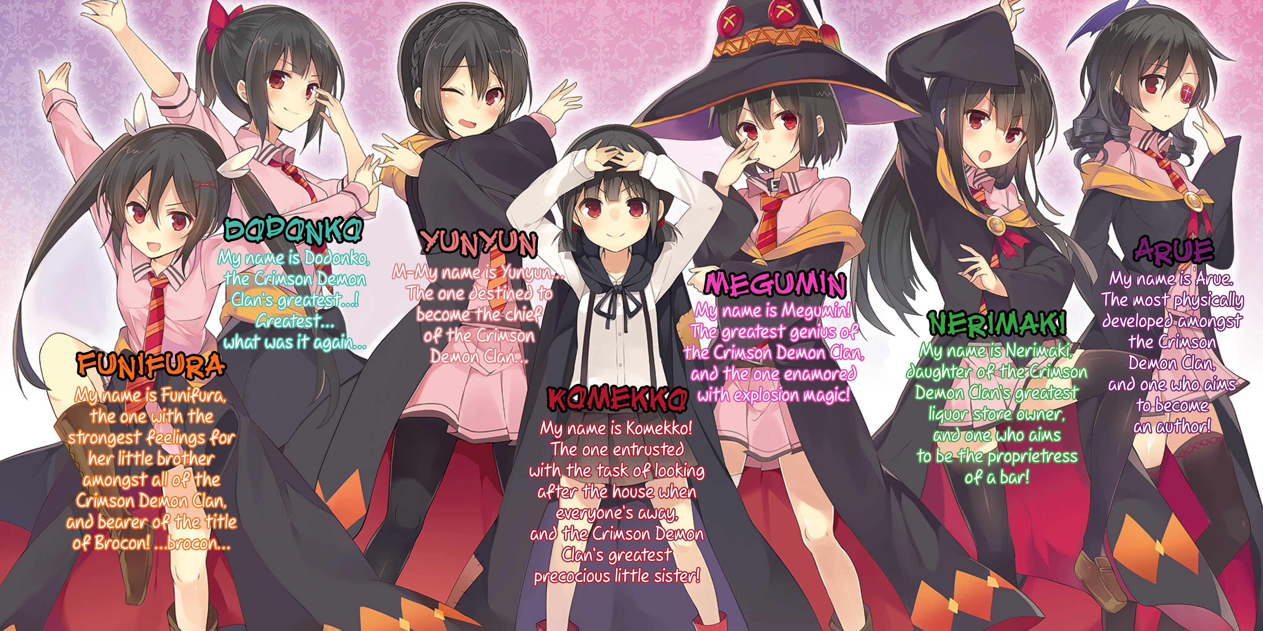 Explosion Spinoff 1 Prologue Megumin S Turn Cgtranslations