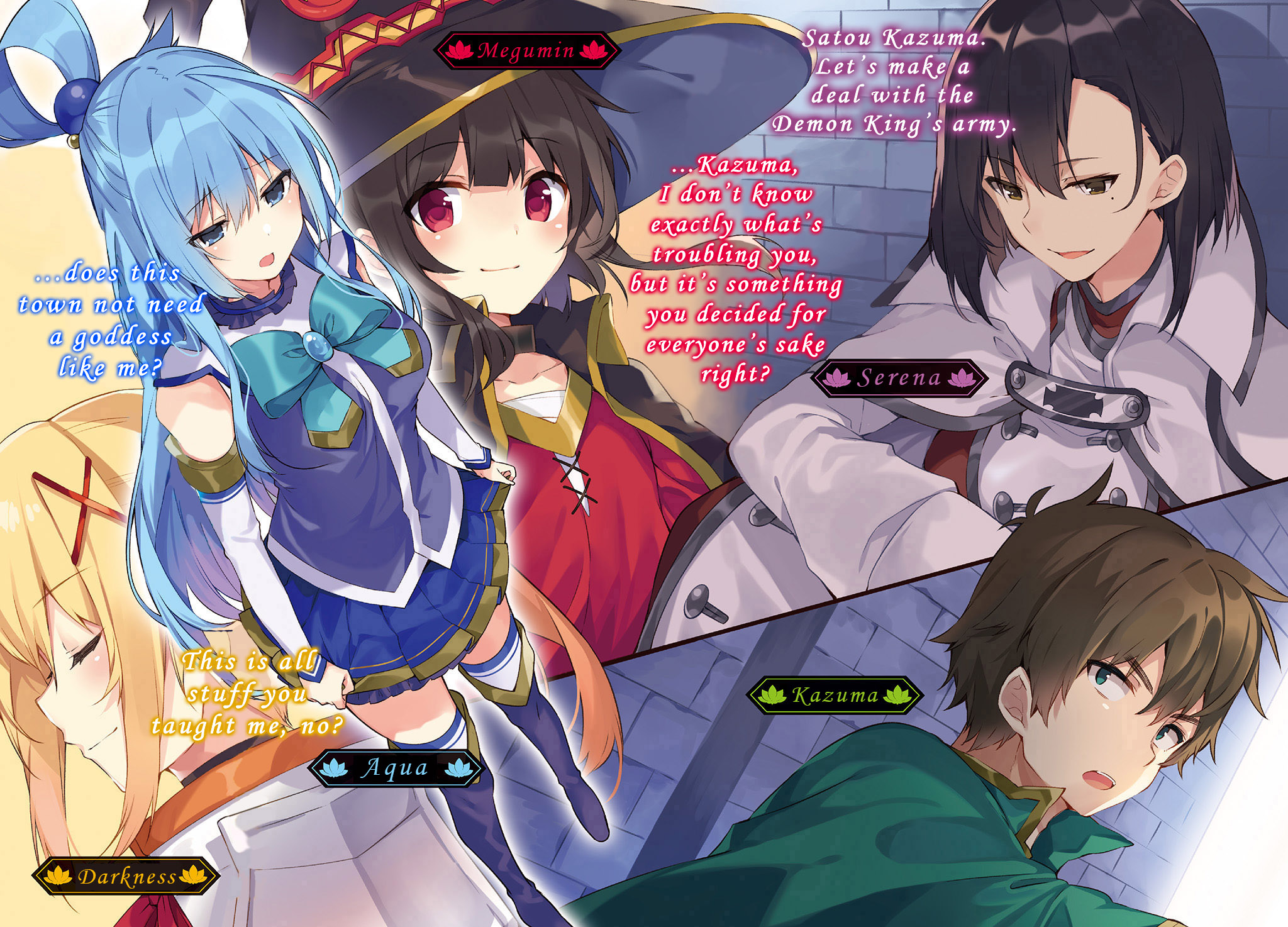Konosuba Volume 15 Prologue – CGTranslations